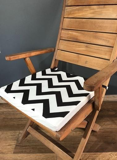 Lyn Home & Decor Zigzag Sandalye Minderi Renkli